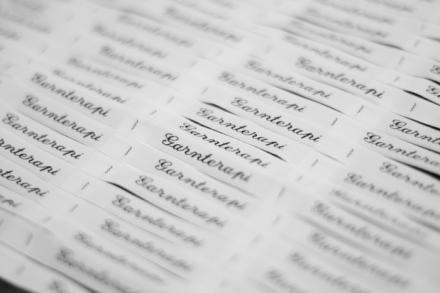 Garnterapi som namnband
