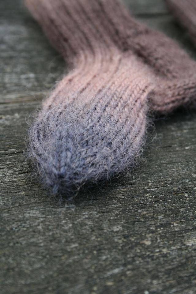 Stickade strumpor