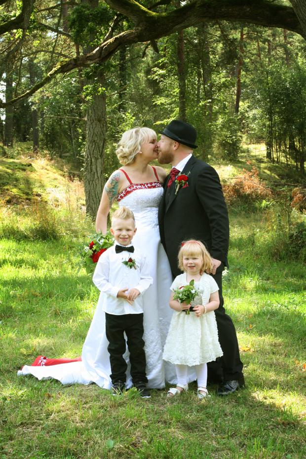 Bröllopsfamiljen